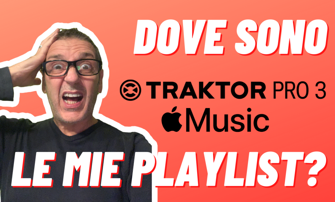dove sono le playlist di itunes con traktor e catalina